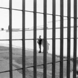 Temporary Detention Center in San Foca (Lecce), January 1999. Photo by Sergio Cecchini.