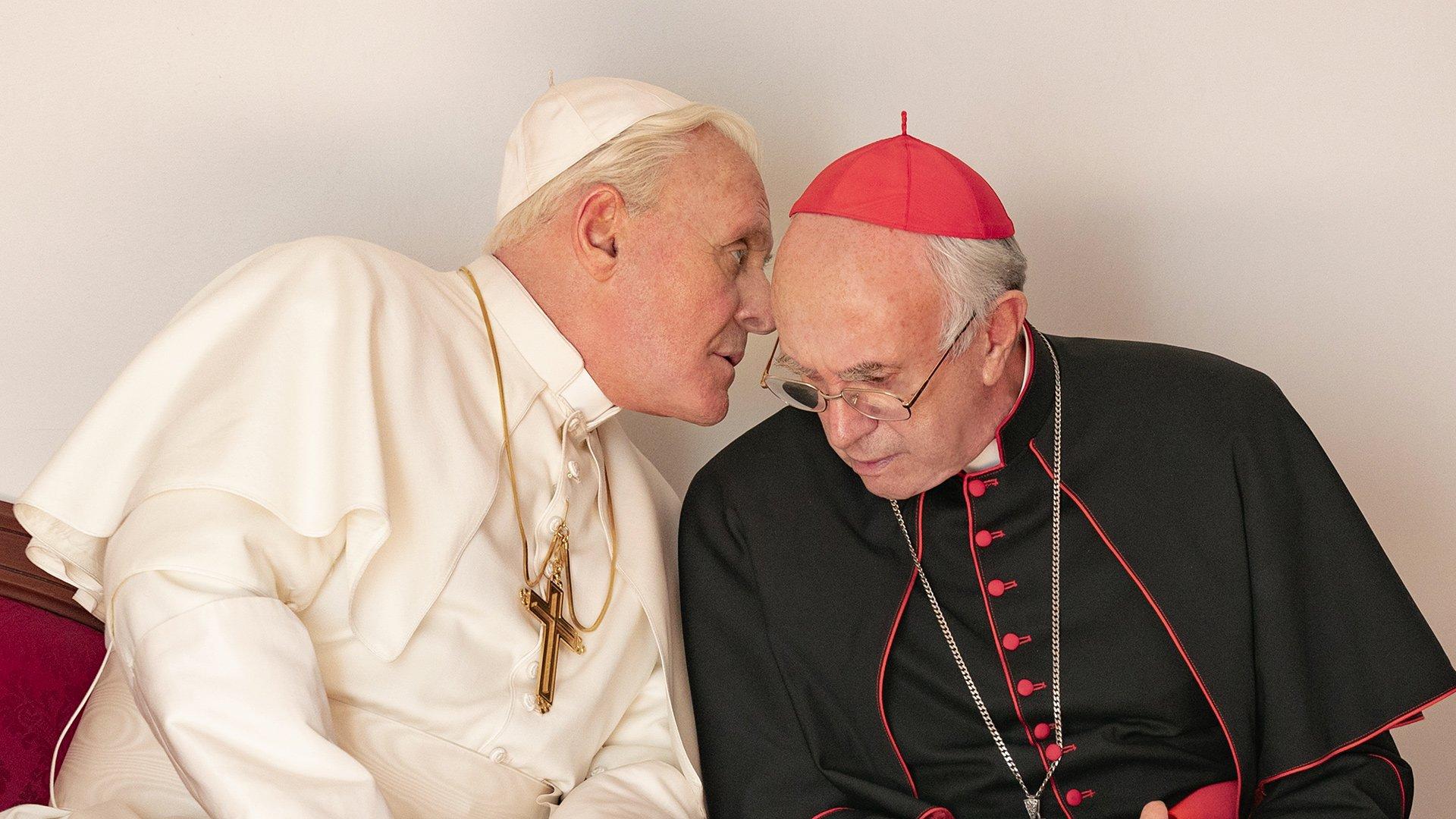 Due papi, una svolta. Ratzinger vs Bergoglio nel film Netflix, in corsa per l'Oscar - Bookciakmagazine